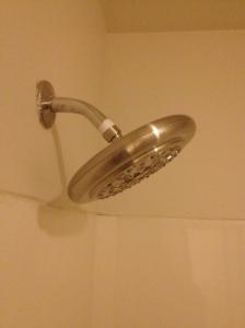 shower head installed